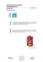 Reformulação de packaging de lâmpadas Boost