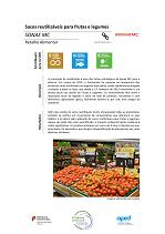 Sacos reutilizáveis para Frutas e Legumes