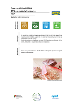 Saco reutilizável ISTAD - 85% em material renovável
