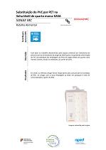 Substituição do PVC por PET da linha têxtil de quarto marca KASA